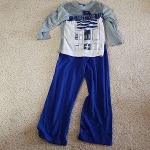 Star wars R2D2 pajamas 7/8